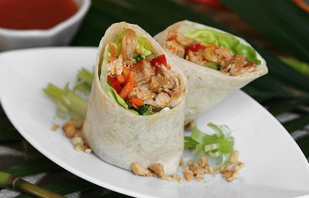 Thai Curry Chicken Roller