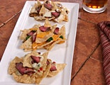 Cheesesteak Nachos 3 Ways