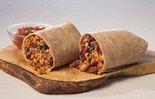 Spicy Three Bean and Farro Burrito