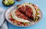 Bacon Weave Double Decker Taco