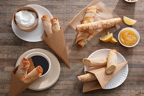 Cheesecake Filled Taquitos