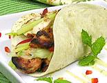 Grilled Tandoori Chicken with Cucumber Slaw